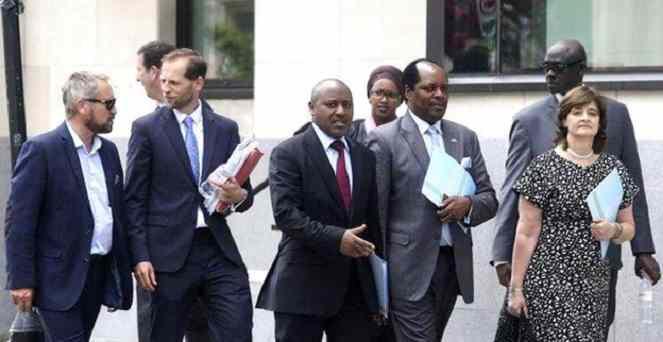 Gen. Karenzi Karake Bailed Out On £1M
