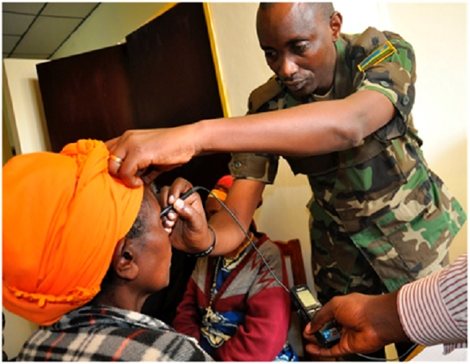 The RPA has grown into one of the most professional armies on the continent. It now treats all forms of diseases not only to servicemen, but also civilians
