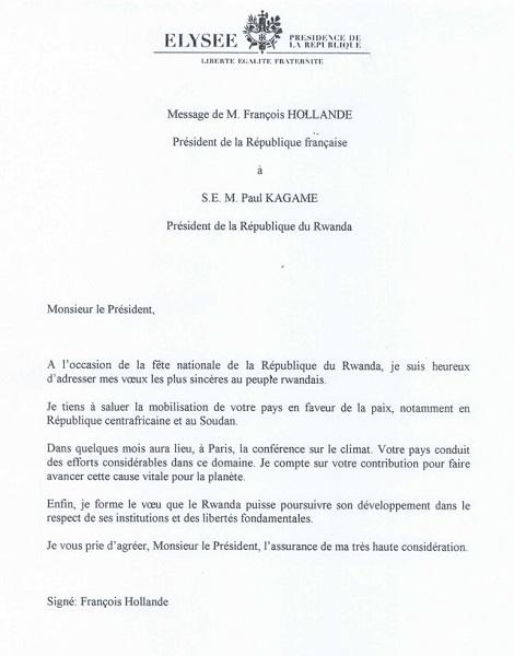 Kagame Rubbishes Hollande S Condescending Letter Kt Press