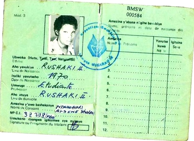 The Passport To Death: Story Of Rwanda's Notorious ID