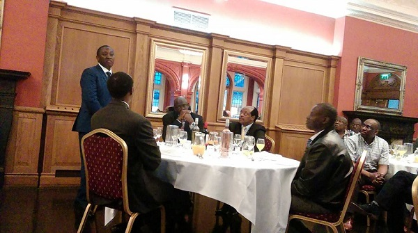 Gen. Karake at a dinner shortly after his release