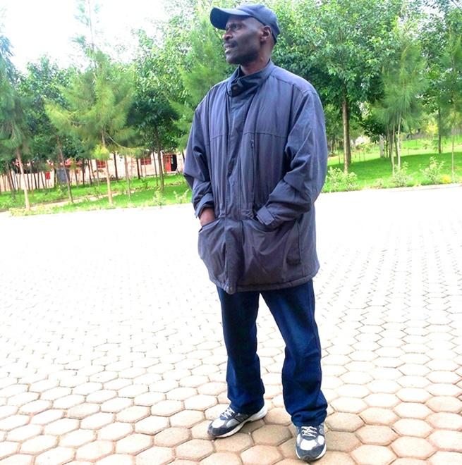 Former FDLR head of administration Lt.Col. Gerard Ntibibaza a.k.a Mambo Lorenzo