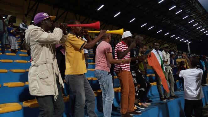 Fans at a Match