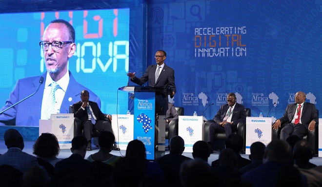 President Kagame at a Transform Africa event. Cabinet appointed has also appointed Didier Nkurikiyinfura to serve as a Technology and Innovation Manager at the Smart Africa Secretariat.