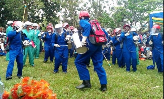 Rwanda Army Joins Battle Against Malaria