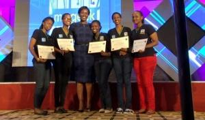 Rwanda's First Lady Inspires Girls into ICT Innovation