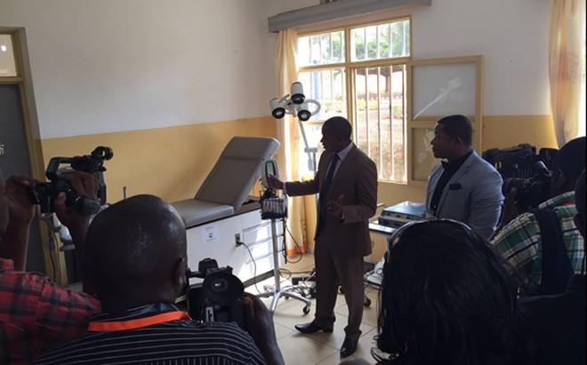 Echography equipment installed at Ruhunda health center