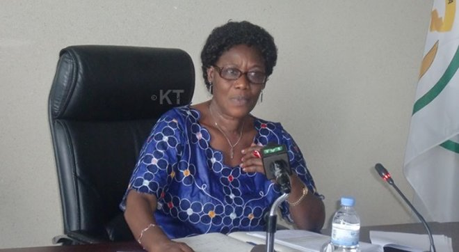 Dr Alvera Mukabaramba the Minister of State for Community Development and Social Affairs