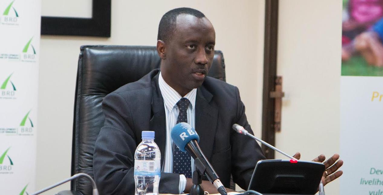Alex Kanyankore, Managing Director, Development Bank of Rwanda- BRD