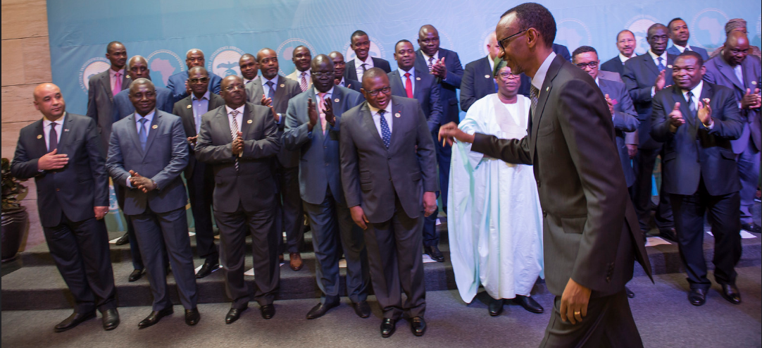 President Paul Kagame at the 13th Conference for the Committee of Intelligence and Security Services in Africa (CISSA)