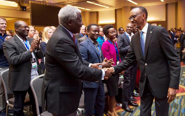 President Paul Kagame at Rwanda Cultural Day convened at San Francisco