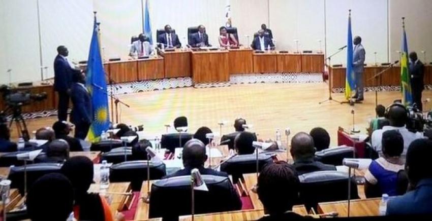 New cabinet members taking Oath