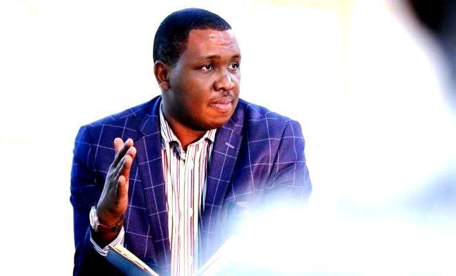 Olivier Mazimpaka Camarade, the President survivors of genocide against Tutsi students' association (GAERG)