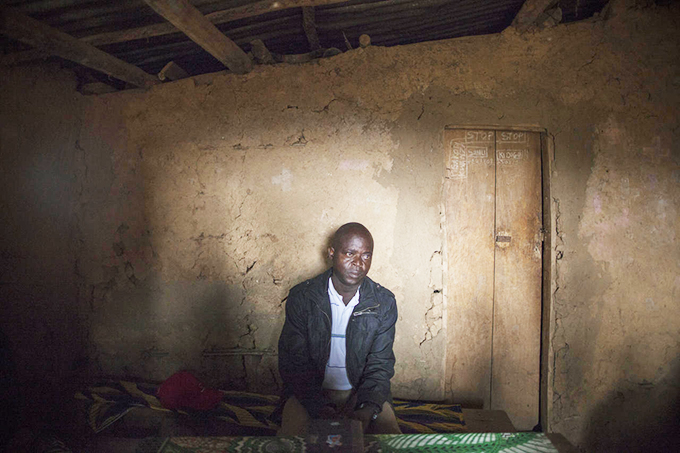Father Nahimana is chief ideologue of FDLR faction led by Col Wilson Irategeka, seen here in his hideout Bweru, North Kivu province of DRC