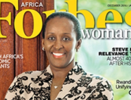 First Lady speaks to Forbes Woman Africa