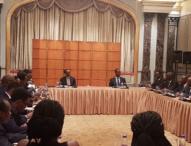 Kagame Meets Rwandan Community in China