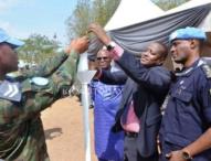 Rwandan Peacekeepers Commemorate Worldwide #Kwibuka23