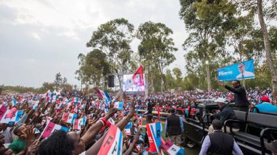 RPF Campaign: Massive Turnout in Kayonza