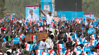 RPF Presidential Rally in Ruhango