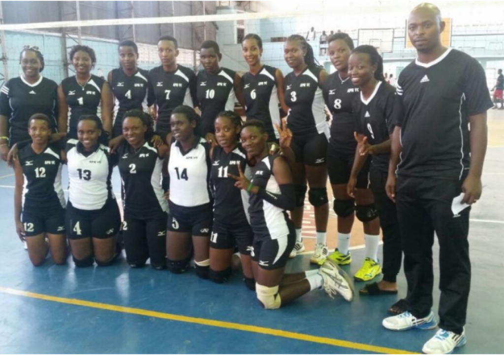 Rwanda's APR Clubs Shine in Julius Nyerere Volleyball Cup