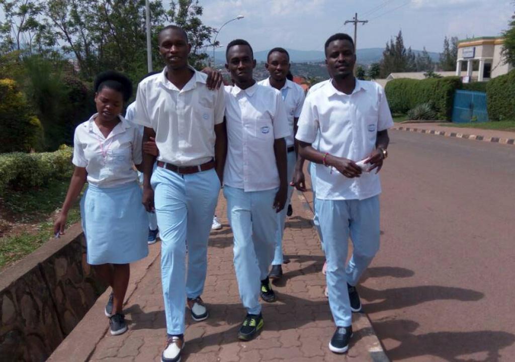 Rwanda's Hacking Students Sit for National Exams