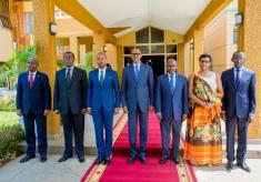 New Cabinet Members Sworn-in