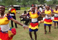 African Military Officers Show the Best of their Culture