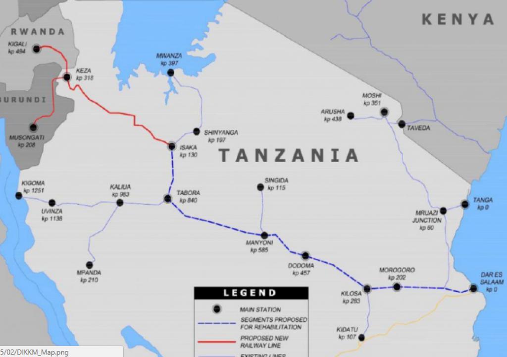 Isaka – Kigali Railway Construction for  October 2018