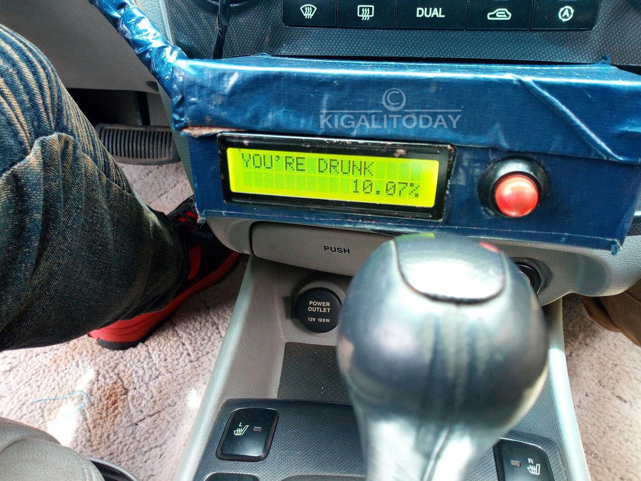 Rwandan Student Creates Technology to Detect Drunk Drivers – KT PRESS