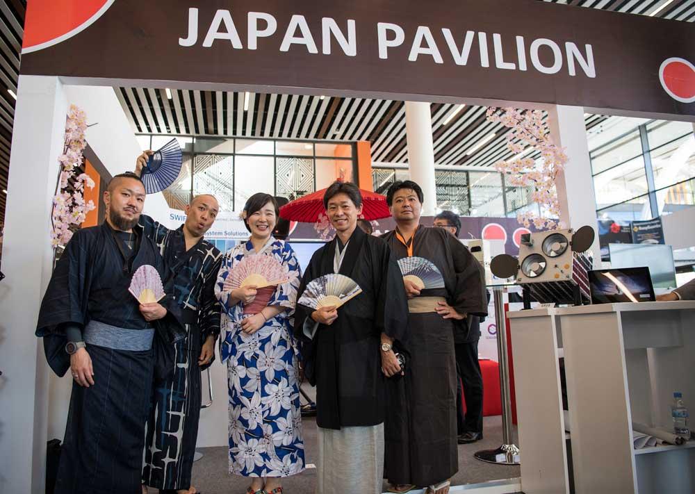 Exhibition Stand Builders In Japan : Rwanda starts satellite engineering kt press