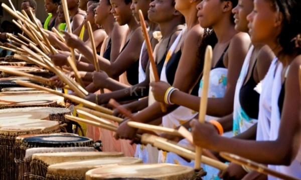 Get a Mix of Rwandan Women's Drum and Germany Jazz Juice