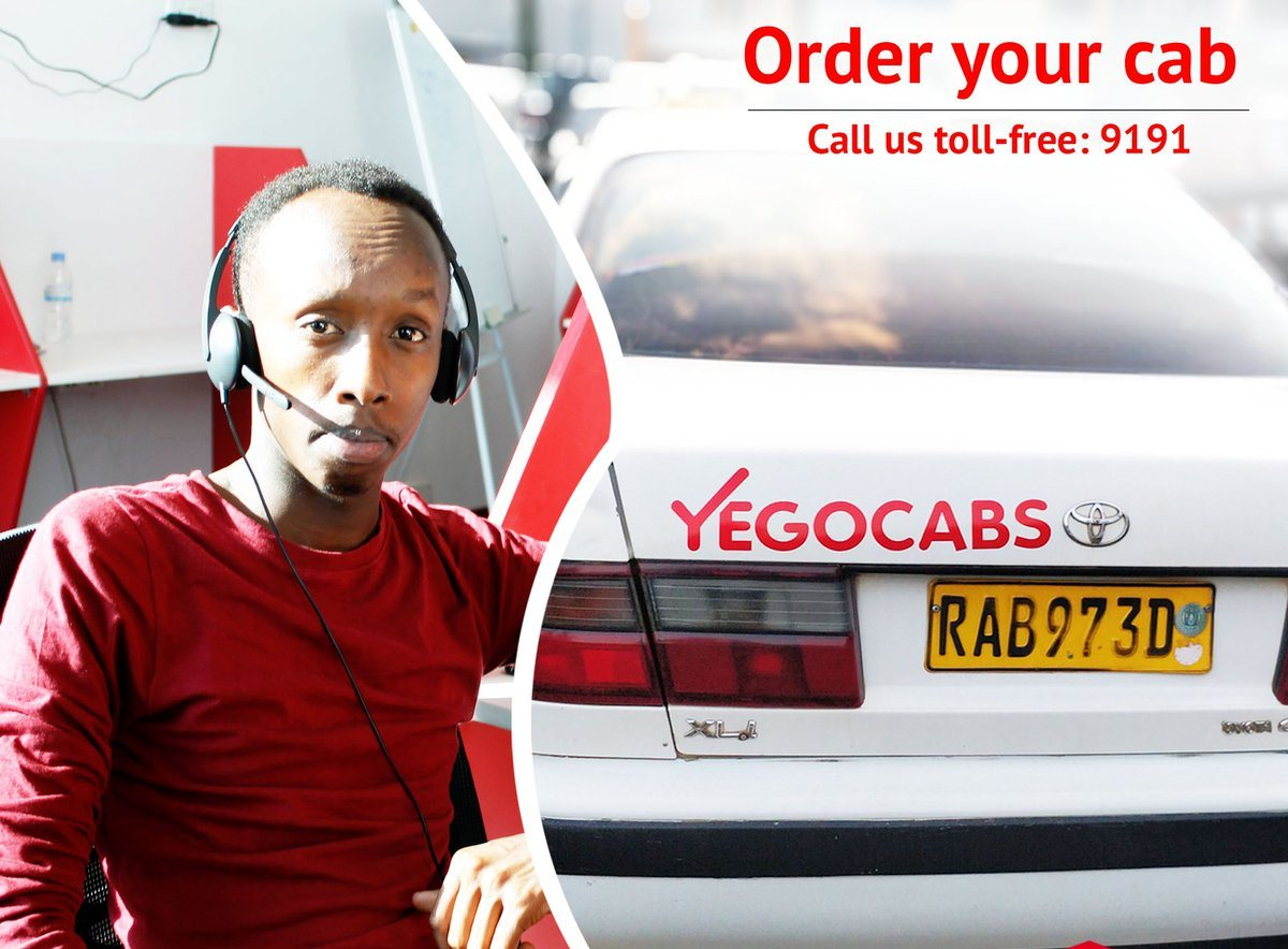 "YEGO cab"" – a New 'Low Cost' Taxi- Service Launched in Kigali – KT PRESS"