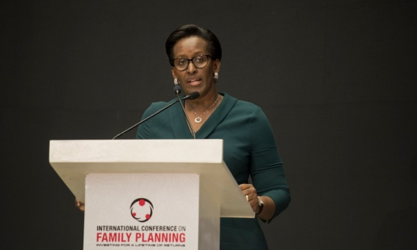 First Lady Dismisses the 'More Children, More Wealth' Mentality