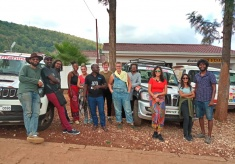 The Mahindra Sponsored Great African Caravan Makes a Stopover in Kigali