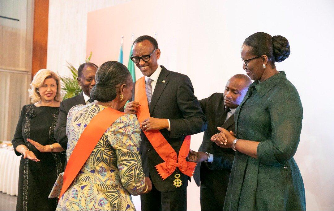 """Résultat de recherche d'images pour """"paul kagame en côte d'ivoire"""""""