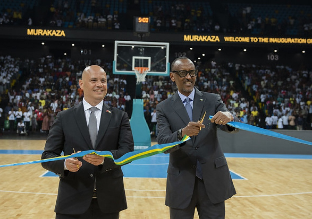 President Kagame Unveils State-of-the-art Kigali Arena