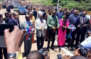 Magufuli And Kagame Commission Rusumo Border Post