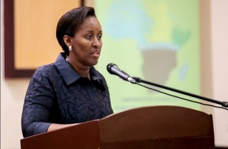 Rwanda's First Lady Challenges African Youth On Innovation