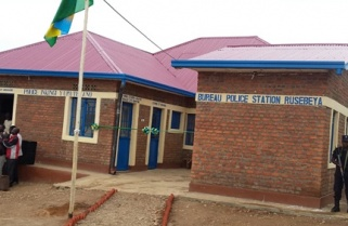 Local community builds police station in rural Rwanda