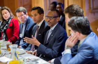 Kagame Defends Africa At WEF