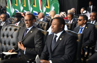 Kagame in South Africa for Inauguration of President-elect Ramaphosa