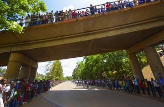 African Cyclists to Draw Crowds on Kigali-Bugesera Road