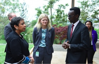 US Attorney Honours Genocide Victims