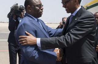 President Paul Kagame in Senegal for Inauguration of Macky Sall