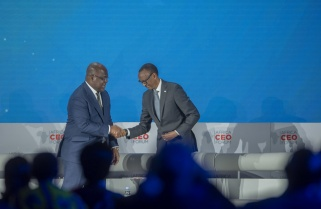 Kagame Speaks out on DRC, Sudan