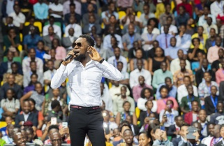 Video: I Have Never Experienced Such A Continental Turn Up Before -Patoranking in Kigali