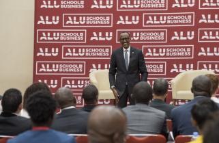 Kagame Lectures on Liberation Spirit at ALU Inaugural Graduation