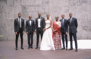 Euphoria: Rwanda's First Daughter Releases Wedding Photos