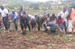 RDF Takes Fight on Food Shortage, Provides Healthcare