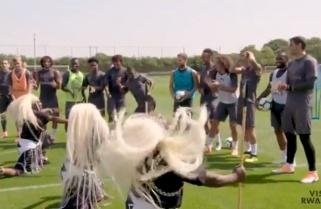 When Rwandan Cultural Dancers 'Intore' Surprised Arsenal FC Players